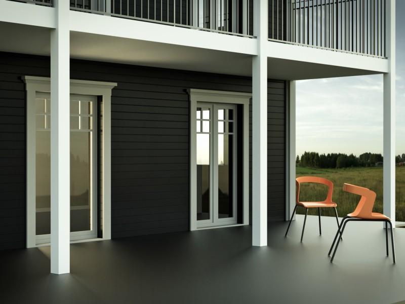Wizualizacje architektury mieszkalnej dla firmy DD Hus