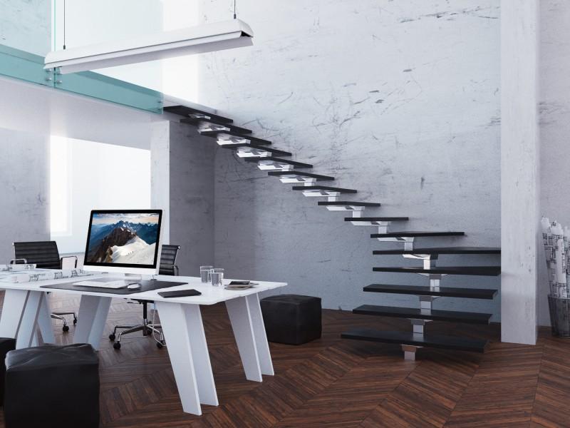 Wizualizacja schodów dla STEPP